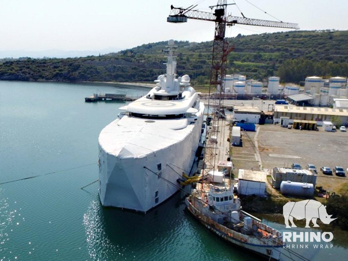 Βαφή Mega Yacht 140m